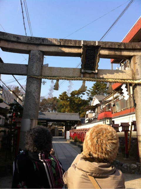 茨木市の神社を参拝してきました。