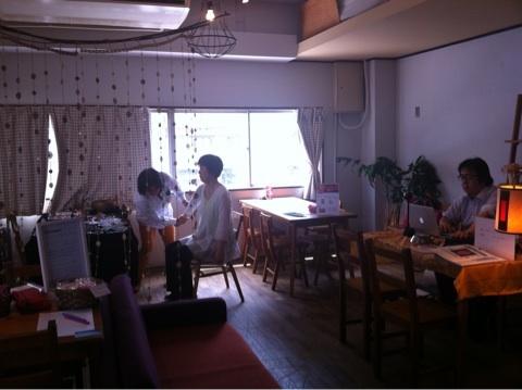 片町癒しカフェはじまりました!