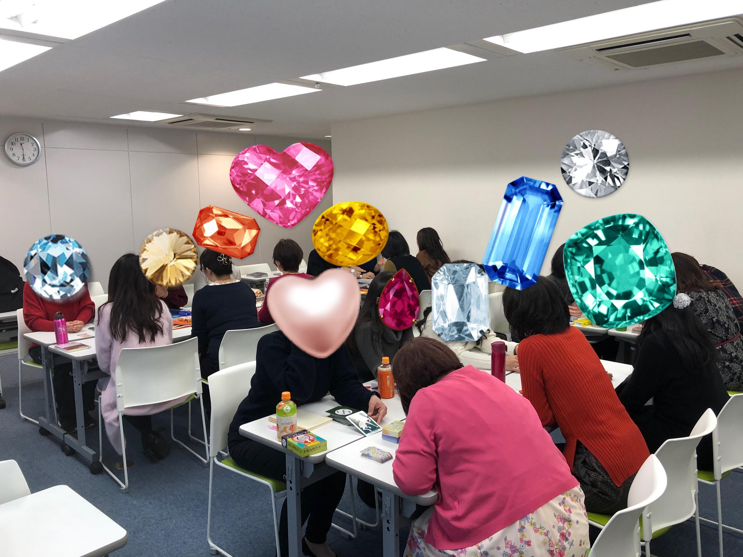 実践!実践!実践! 解説書不要・2時間でカードが読める! 講座 福岡と仙台で開催しました。